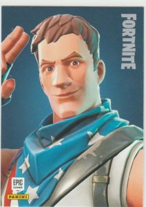 Fortnite Star-Spangled Trooper 142 Uncommon Outfit Panini 2019 trading card