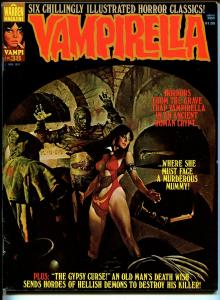 Vampirella #38 1974-Warren-Vampi cover-horror-mystery stories-mummy-FN
