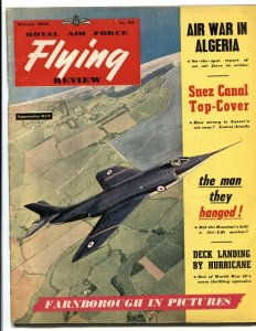 Royal Air Force Flying Review October 1956- Algeria- Suez