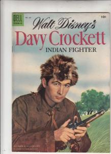 Four Color #631 (May-55) FN/VF Mid-High-Grade Davy Crockett