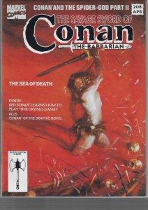 Savage Sword of Conan #208 (Marvel, 1993)