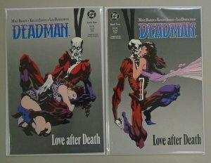 Deadman Love After Death set #1 & 2 6.0 FN (1990)