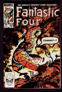 Fantastic Four #263 (Feb 1984, Marvel) 9.0 VF/NM