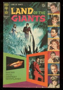 LAND OF THE GIANTS #4 1969-GOLD KEY PHOTO COVER-TV COMI VG