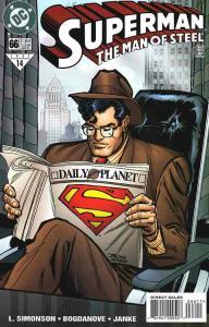SUPERMAN: MAN OF STEEL (1991 DC) #66 NM A90727