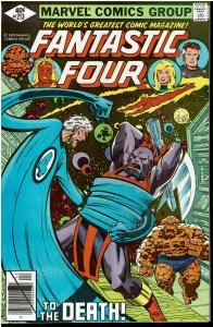 Fantastic Four #213, 9.0 or Better - Galactus vs. The Sphinx