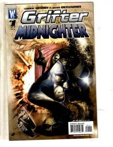 Lot Of 7 Wildstorm DC Comic Books Grifter Midnighter 1 2 3 4 5 6 + Inferno 1 JC8