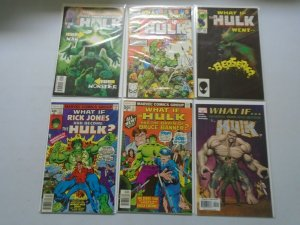 What If? lot 6 different Hulk issues 8.0 VF