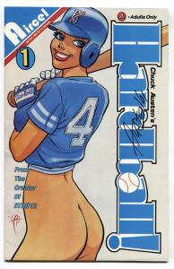 Hardball #1 1991-Signed on cover by CHUCK AUSTEN-comic book