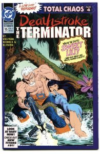 DEATHSTROKE THE TERMINATOR #15  First appearance ROSE WILSON / RAVAGER