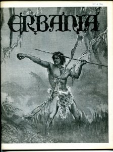 Erbania #33 / 34 -Edgar Rice Burroughs-Tarzan-Habblitz-info-pix-art- FN/VF