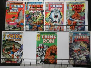 Marvel Two-in-One (1982) #88-100 Lot of 7Diff Thing Teamups! She Hulk Spidey!