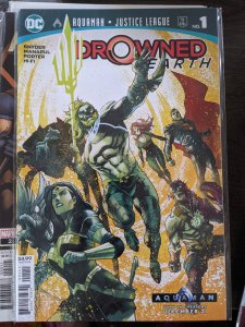 Aquaman/Justice League: Drowned Earth Special #1 (2019)