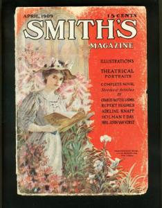 SMITH'S MAGAZINE 4/09-FIRE FIGHTERS-ETHYL BARRYMORE-PULP FICTION-good/very G/VG
