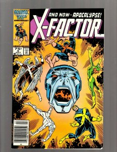 X-Factor # 6 NM- 1st Apocalypse Appearance Marvel Comic Book X-Men Wolverine SB5