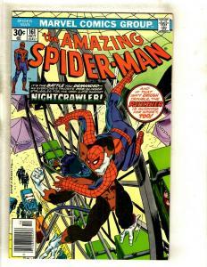 Lot Of 5 Amazing Spider-Man Marvel Comic Books # 161 163 164 165 166 Goblin GK5