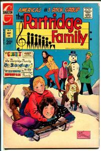 Partridge Family #9 1972-Charlton-David Cassidy-Shirley Jones-Susan Dey-VG