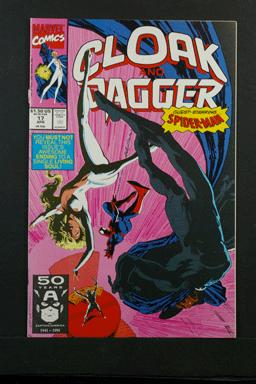 Cloak and Dagger #17 April 1991 Feat Spider-Man