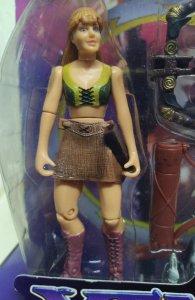 Gabrielle Orphan of War Spinning Staff Attack Xena Warrior Princess