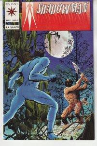 Shadow Man(vol. 1) # 2   Final Battle With the Death Loa !