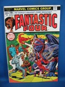 Fantastic Four #135 (Jun 1973, Marvel) F VF
