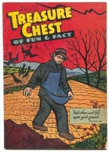 Treasure Chest Vol. 4 #14 1949- Bing Crosby appears VG