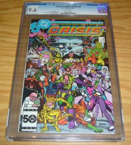 Crisis on Infinite Earths #9 CGC 9.6 marv wolfman - george perez - dc comics