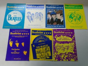 Beatlefan Magazine lot of 19 different sketch issues