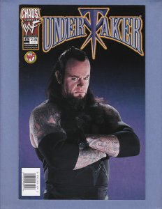 Undertaker #8 Photo Variant Cover NM- Chaos Comics 1999