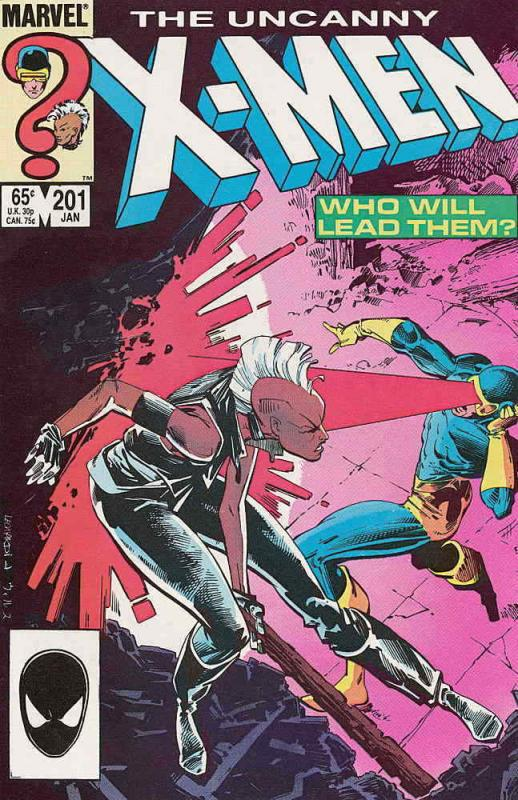 Uncanny X-Men, The #201 FN; Marvel | save on shipping - details inside