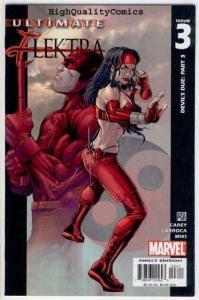 ULTIMATE ELEKTRA #3, VF/NM, Daredevil, Devil's Due, 2004