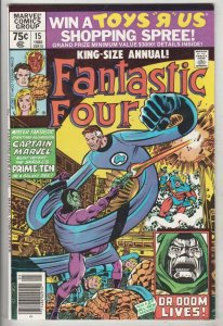 Fantastic Four King-Size Special #15 (Jan-80) NM- High-Grade Fantastic Four, ...