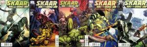 SKAAR KING OF THE SAVAGE LAND (2011) 1A,2-5  COMPLETE!