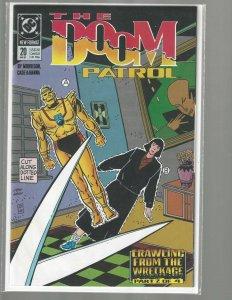 The Doom Patrol, #20, DC Comics, 1989, High Grade