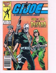 G.I.Joe A Real American Hero #57 VF Marvel Comic Book Destro 1986 DE8