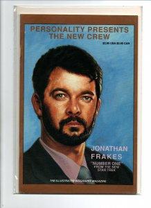 Personality Comics New Crew Jonathan Frakes -Commander Riker - Star Trek TNG -NM