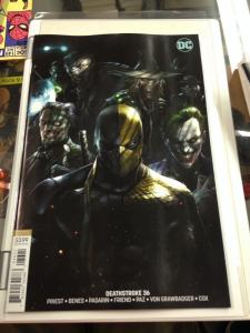 Deathstroke 36 Francesco Mattina Variant NM
