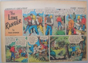 Lone Ranger Sunday Page by Fran Striker and Charles Flanders from 5/12/1940
