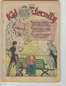 Kid Eternity #5 1st series - golden age superhero comic - Quality 1947