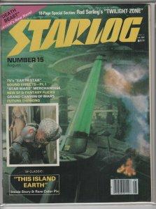 STARLOG MAGAZINE #15 VG/F A04994