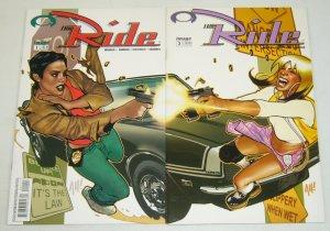 the Ride #1-2 VF/NM complete series - adam hughes - jason pearson - bad girls
