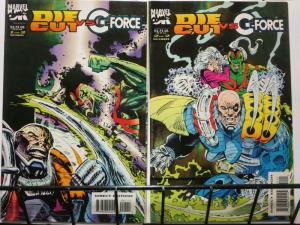 DIE CUT VS G FORCE (1993 MUK) 1-2  complete mini