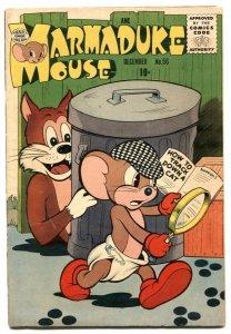 Marmaduke Mouse #56 1955- Sherlock Holmes parody cover FN