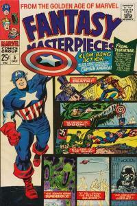Fantasy Masterpieces (1966 series) #5, VG (Stock photo)