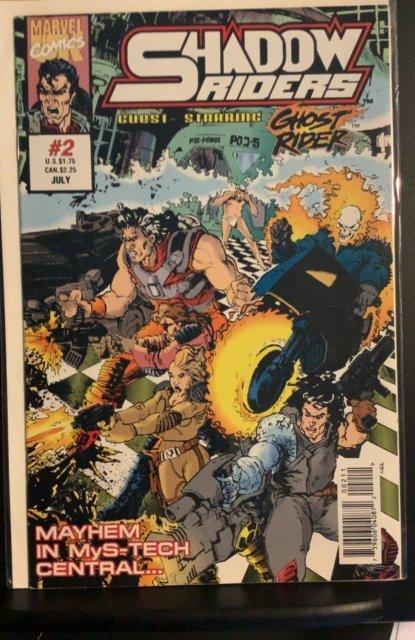 Shadow Riders (UK) #2 (1993)