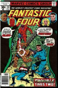 Fantastic Four #187, 7.0 or Better vs Klaw and Molecule Man