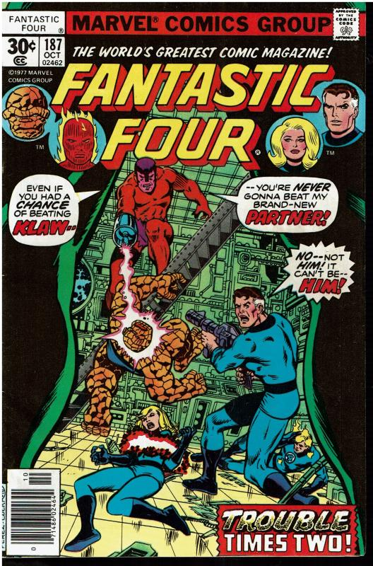 Fantastic Four #187, 7.0 or Better