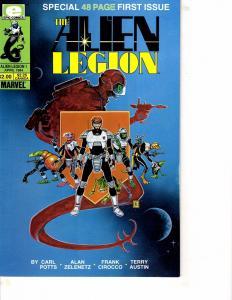Lot Of 3 Alien Legion Epic Comic Book #1 2 3   MS22