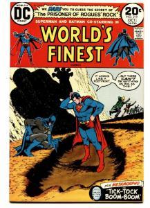 WORLDS FINEST #219 comic book 1972 DC batman Superman