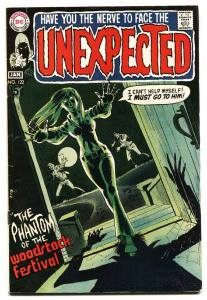 UNEXPECTED #122-DC HORROR- COMIC BOOK 1970 FN